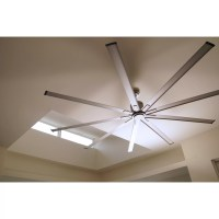 "Big Air 96"" 9 Blade Ceiling Fan with Remote"