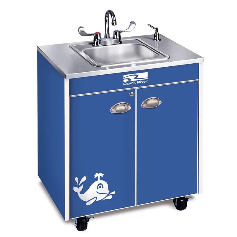 Ozark River Portable Sinks Splasher Series 26 x 18