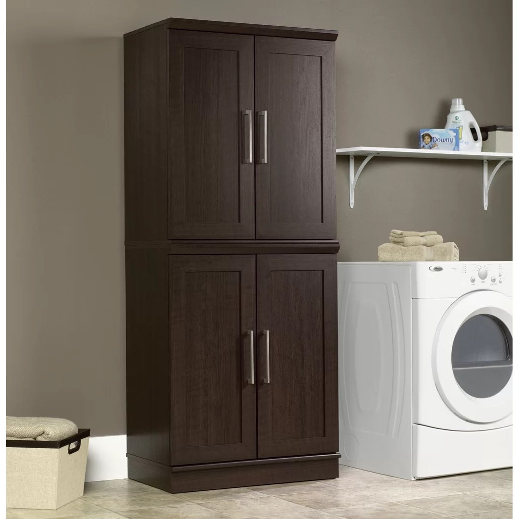 Sauder HomePlus 2 Door Storage Cabinet  Reviews  Wayfair