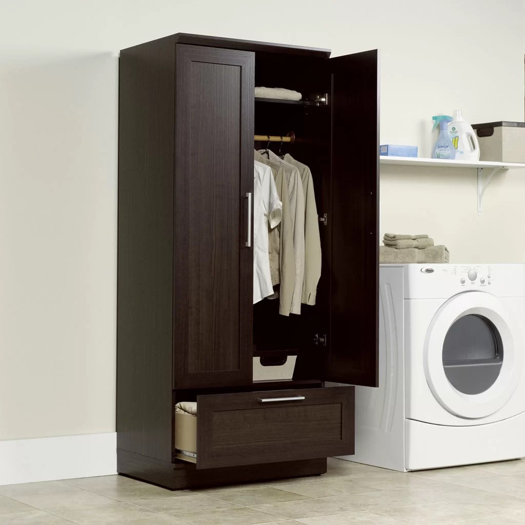 Sauder HomePlus Wardrobe Armoire  Reviews  Wayfair