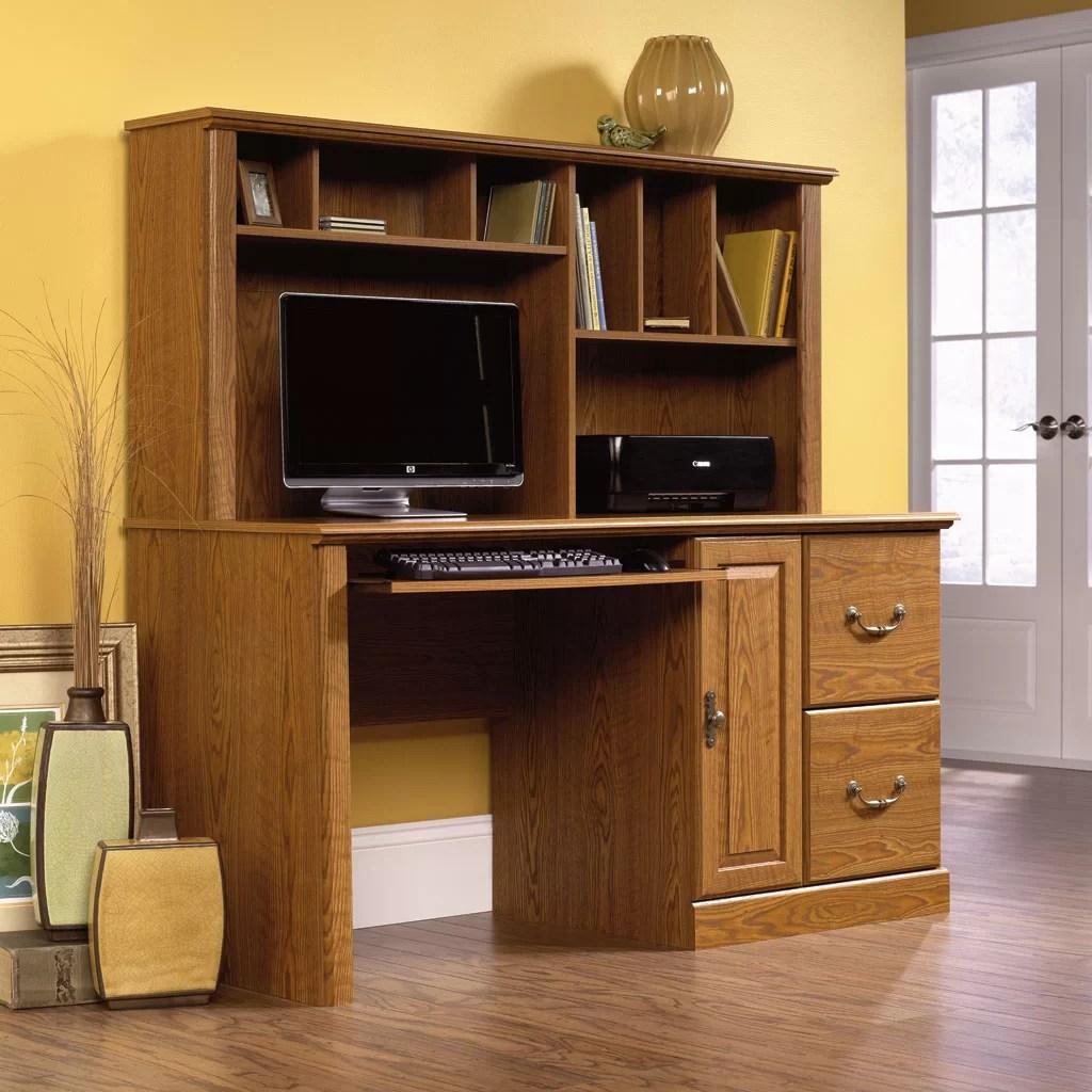 Sauder Orchard Hills Computer Desk with Hutch  Reviews