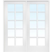 Masonite MDF Primed Interior French Door & Reviews | Wayfair
