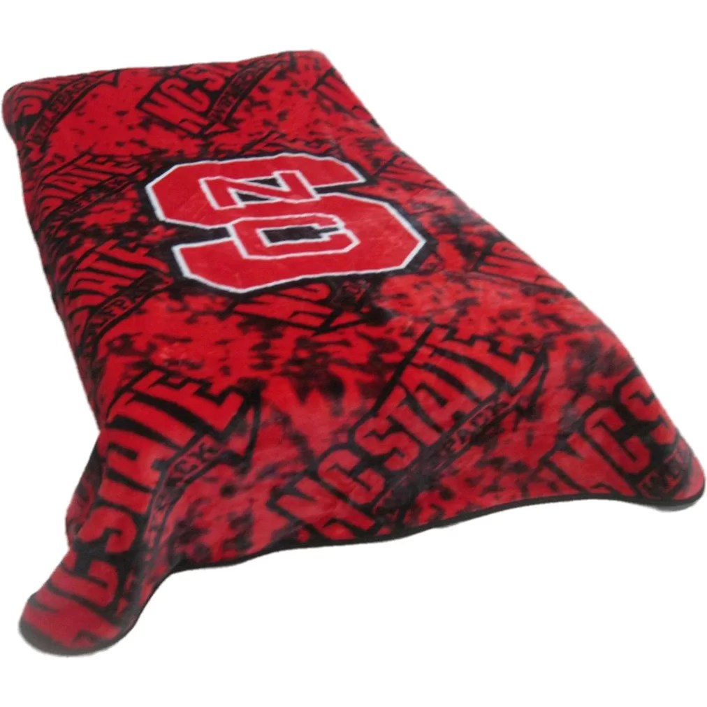 College Covers NCAA North Carolina State Throw Blanket