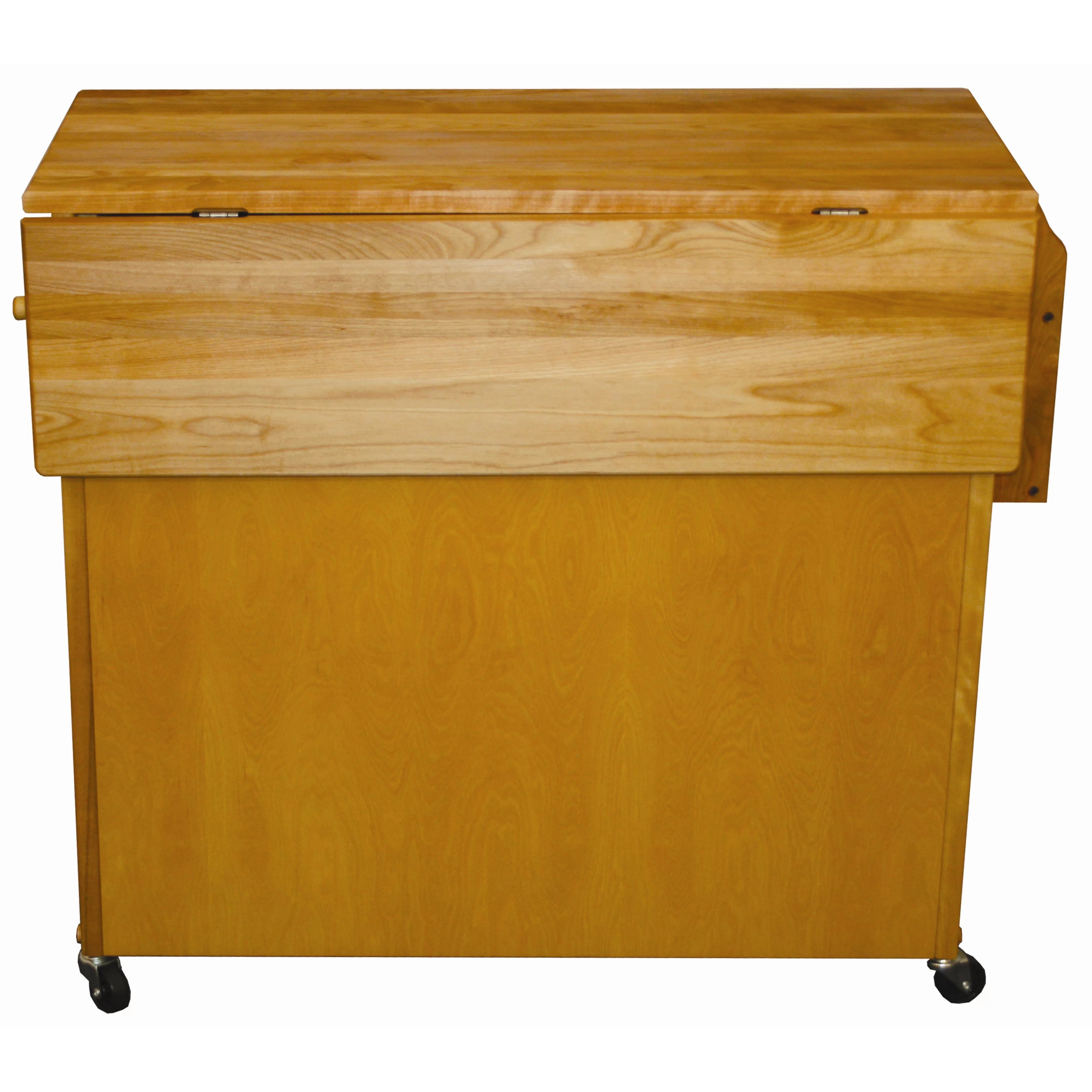 catskill craftsmen kitchen island home depot canada mid size with wood top