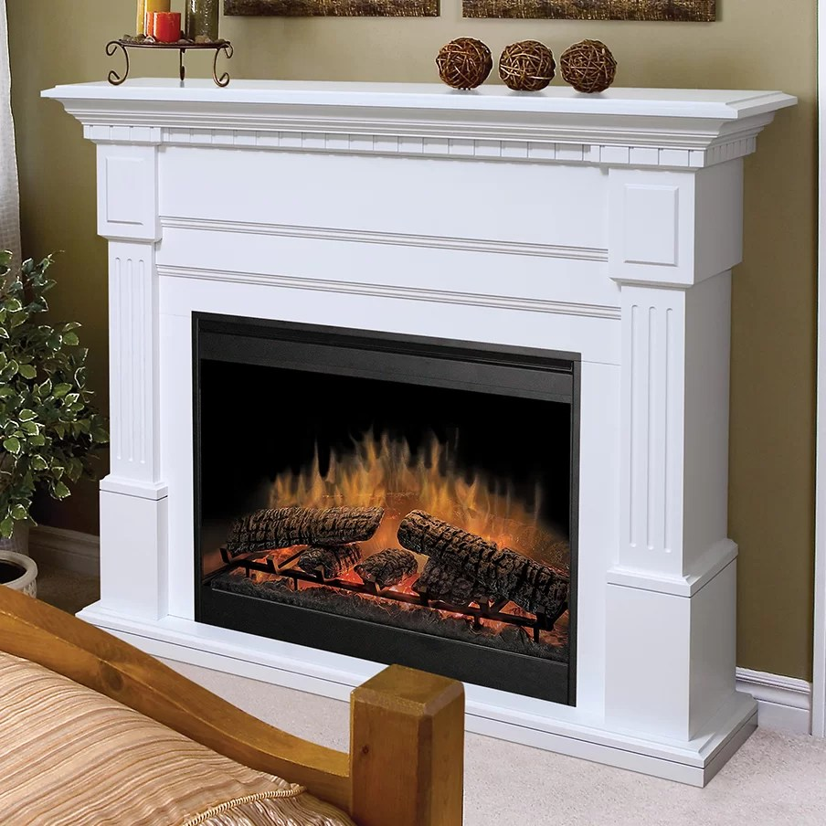 Dimplex Essex Electric Fireplace  Reviews  Wayfair