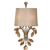 Uttermost Alenya 2 Light Wall Sconce & Reviews
