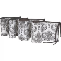 Bacati Classic Damask 10 Piece Crib Bedding Set & Reviews ...