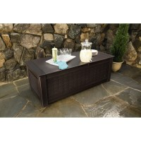 Rubbermaid Patio Chic Deck Box & Reviews | Wayfair
