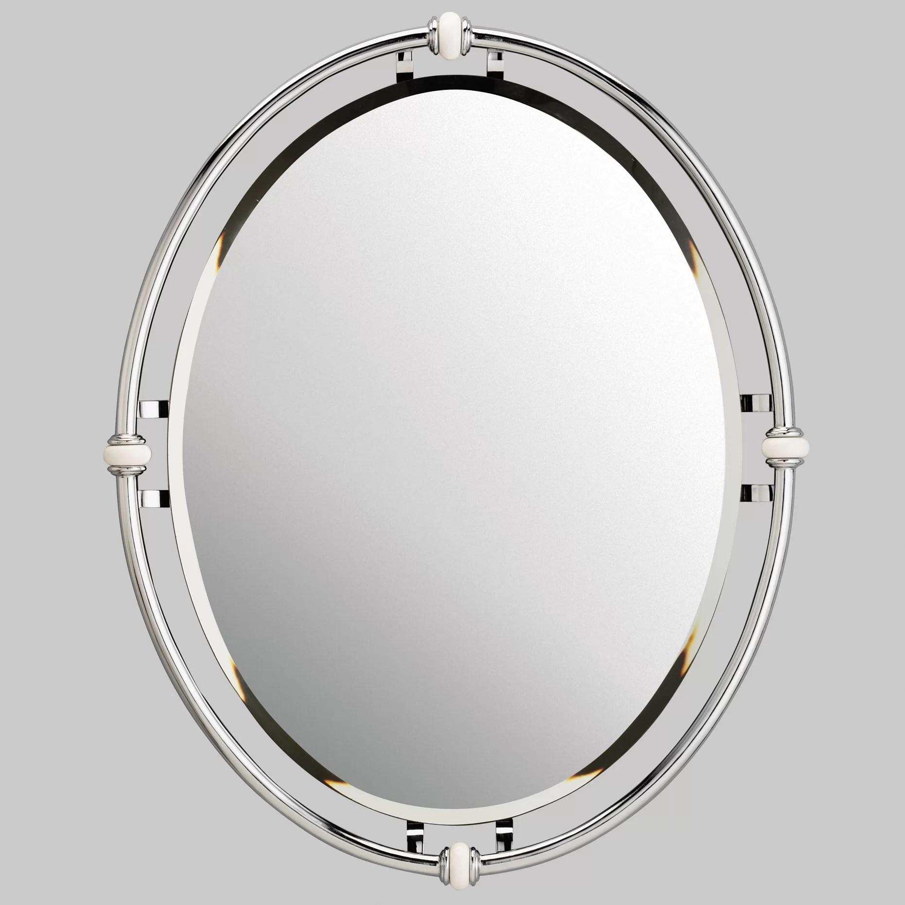 Kichler Oval Beveled Mirror & Reviews