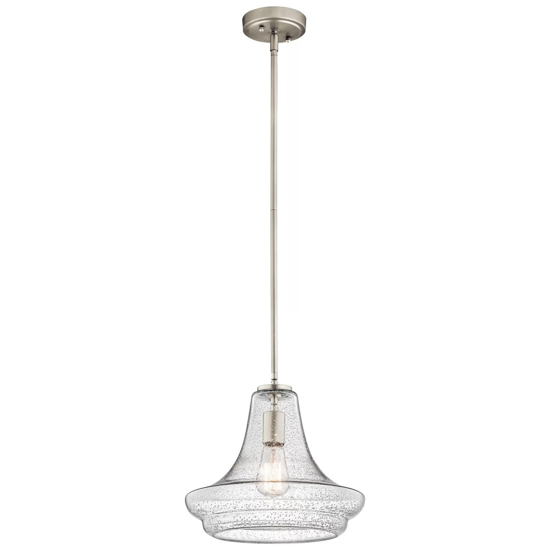 kichler kitchen lighting coffee decor for everly 1 light mini pendant and reviews wayfair