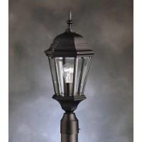 Kichler Madison 1 Light Outdoor Post Light & Reviews | Wayfair