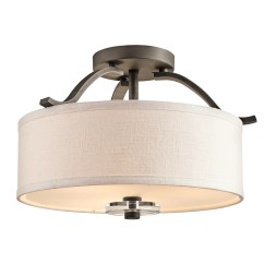 Kichler Kitchen Lighting Window Box Leighton 3 Light Semi Flush Mount And Reviews Wayfair