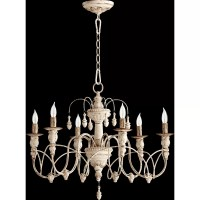 Quorum Salento 6 Light Chandelier & Reviews