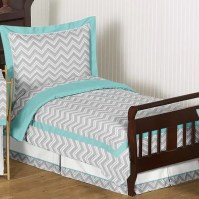 Sweet Jojo Designs Zig Zag 5 Piece Toddler Bedding Set ...