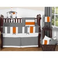 Sweet Jojo Designs Stripe 9 Piece Crib Bedding Set ...