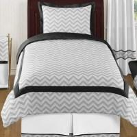 Sweet Jojo Designs Zig Zag 4 Piece Twin Comforter Set
