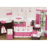 Sweet Jojo Designs Night Owl 9 Piece Crib Bedding Set ...