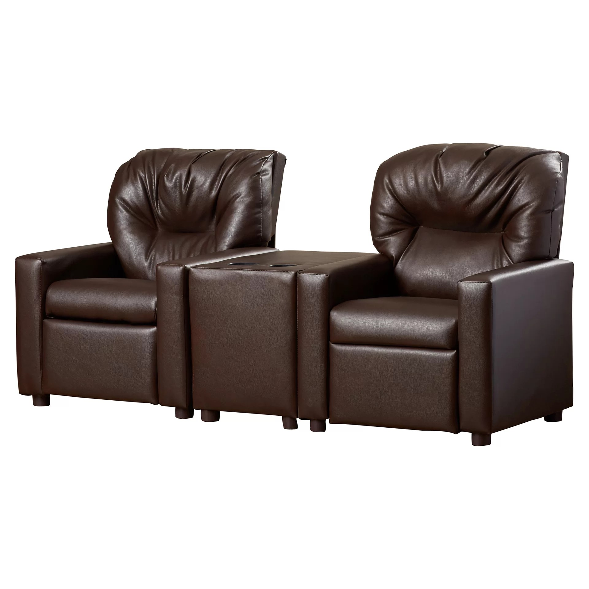theater chairs with cup holders recliner chair reviews dozy dotes kids holder and