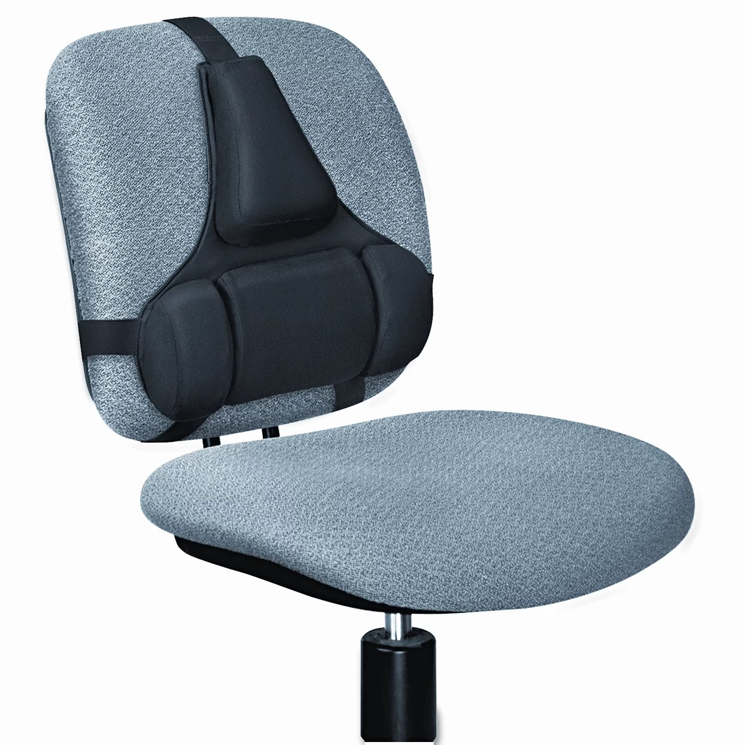 office chair back support cushion reviews mid century modern desk target fellowes manufacturing professional series