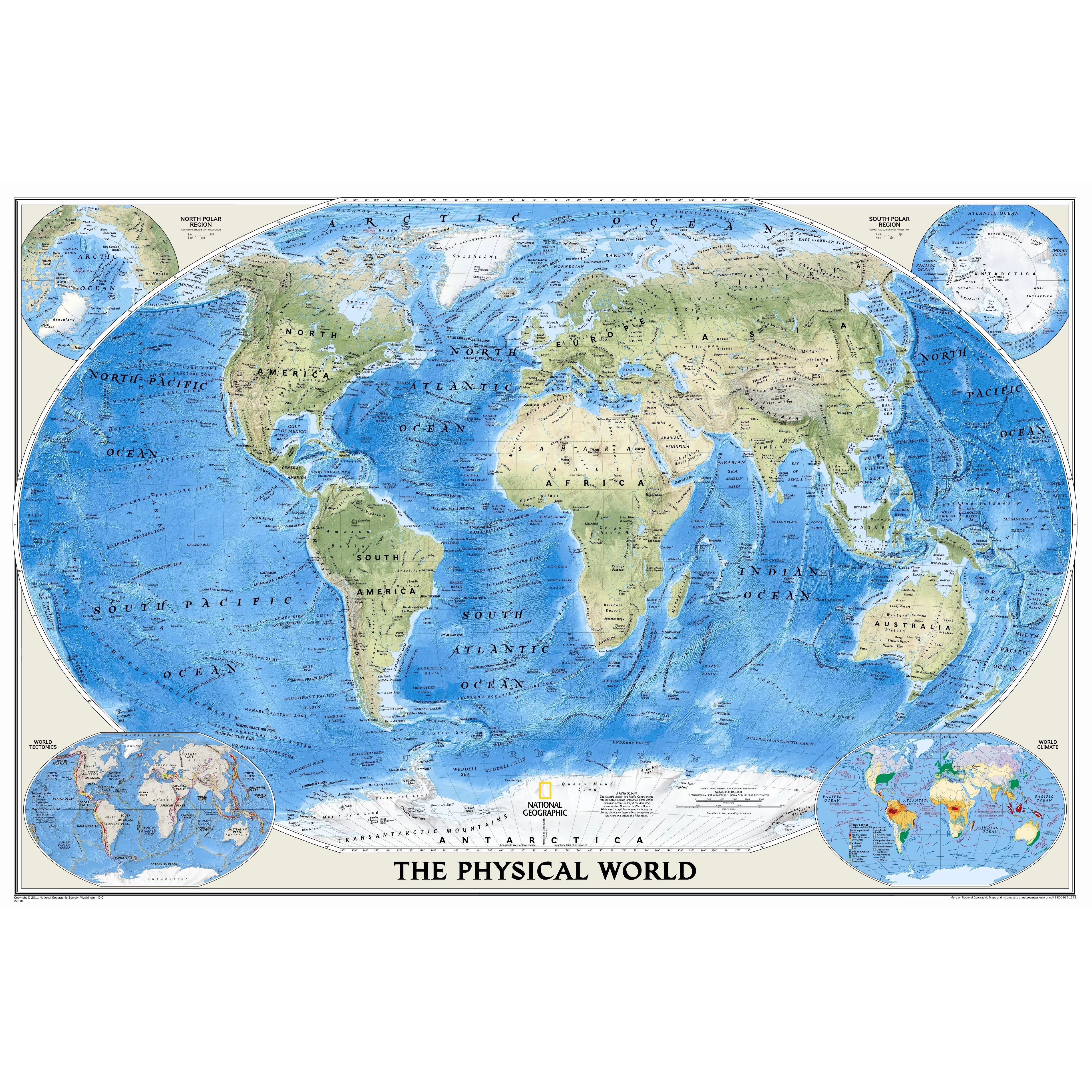 National Geographic Maps World Physical Wall Map Amp Reviews