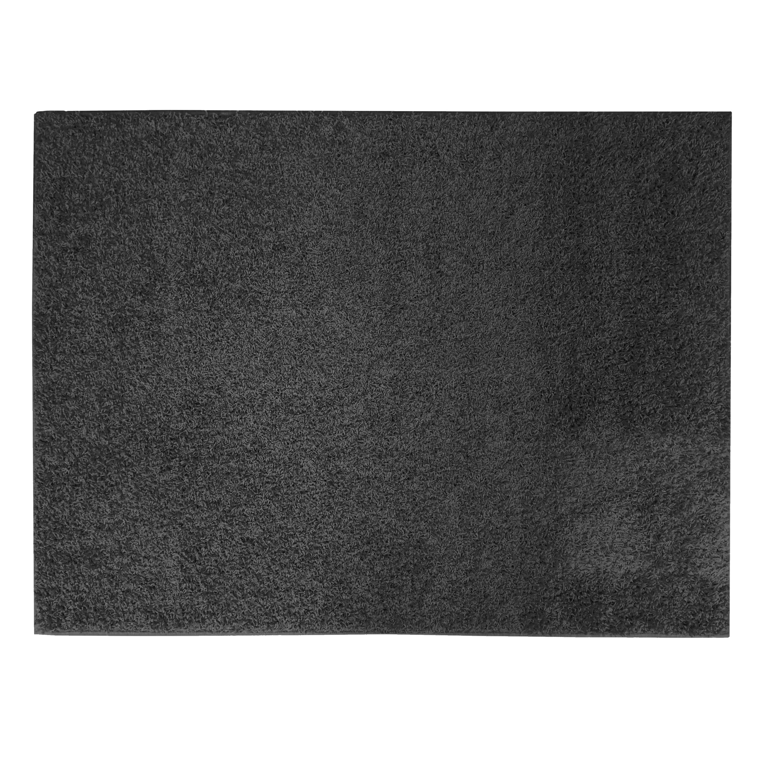 Apache Mills Soft Settings Black Shag Area Rug & Reviews