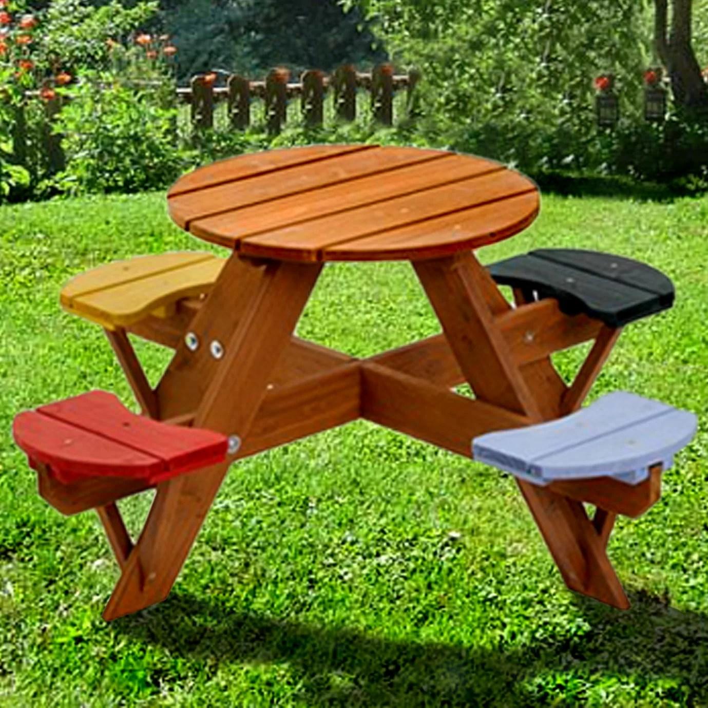 Swing Town Kids Picnic Table  Reviews  Wayfair