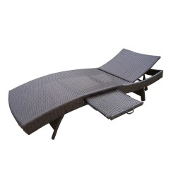 Home Depot Lounge Chairs Noir Furniture Oakland Living Elite Resin Wicker Three Piece Chaise