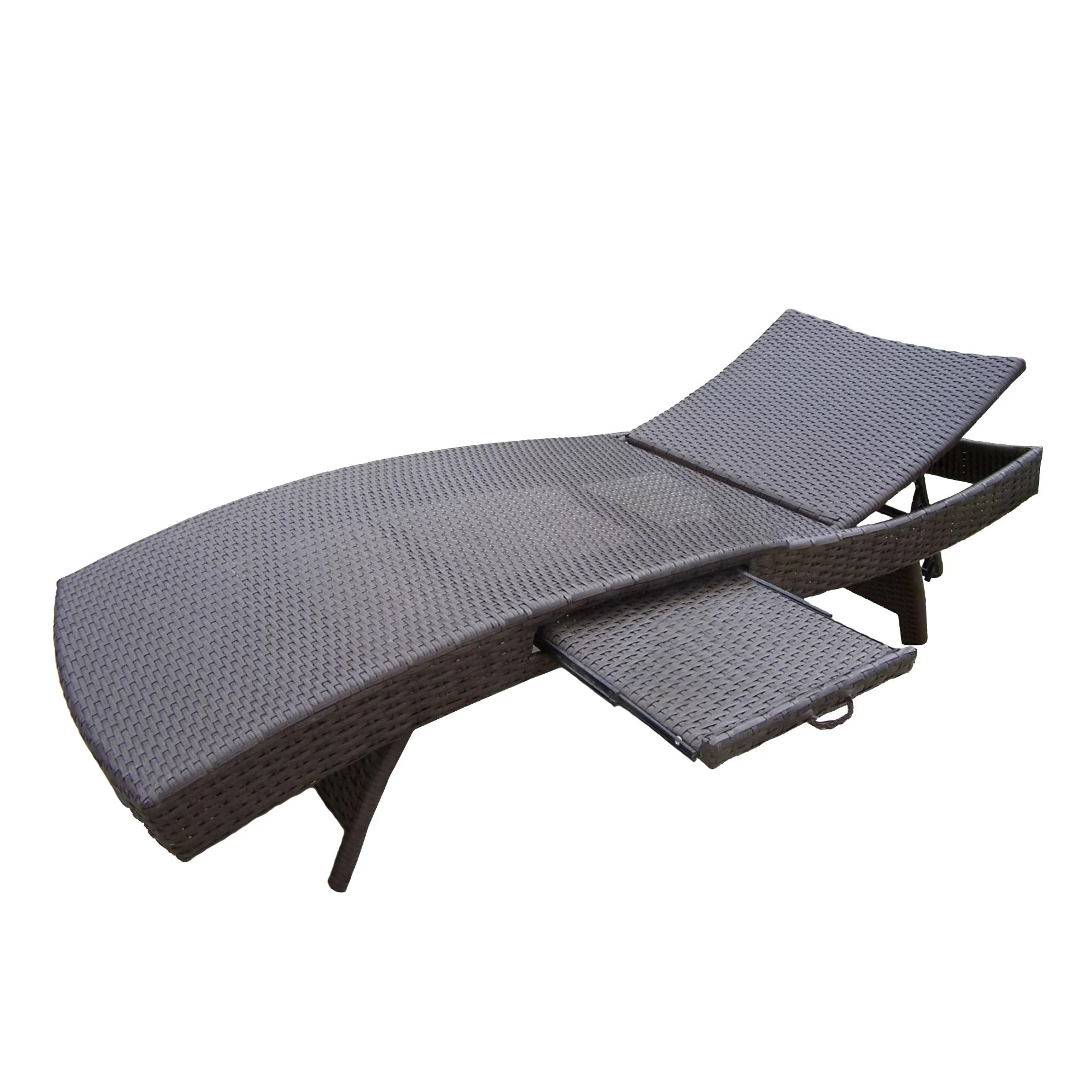 lounge chairs home depot patio chair covers big lots oakland living elite resin wicker three piece chaise