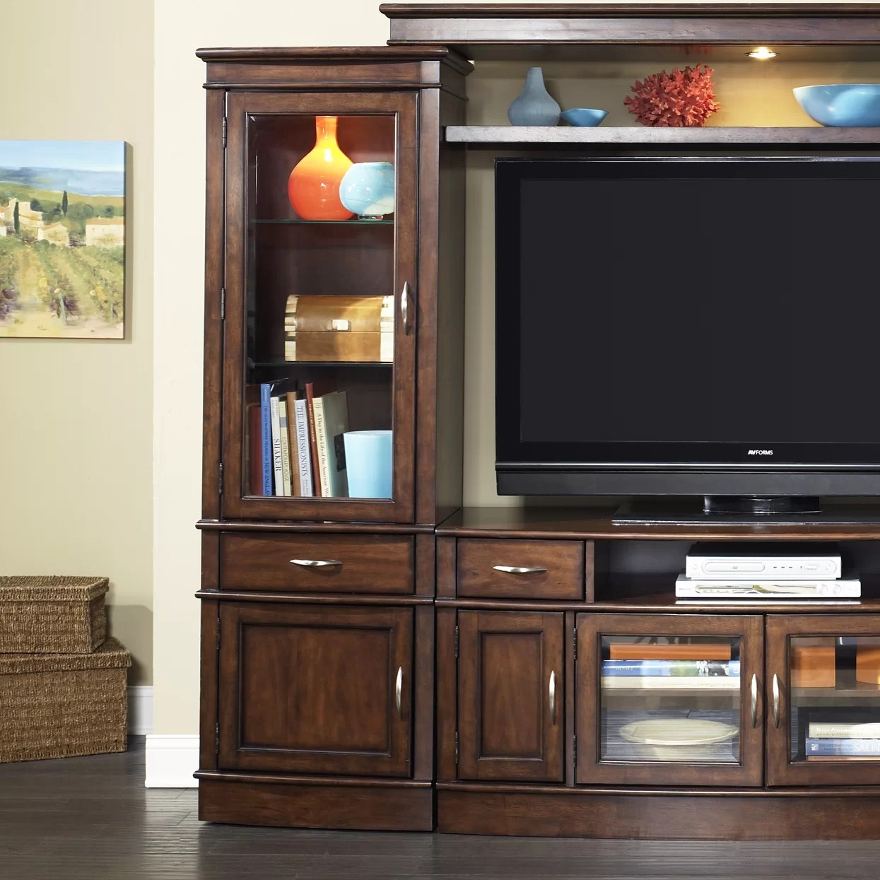 Liberty Furniture Hanover Entertainment Center & Reviews