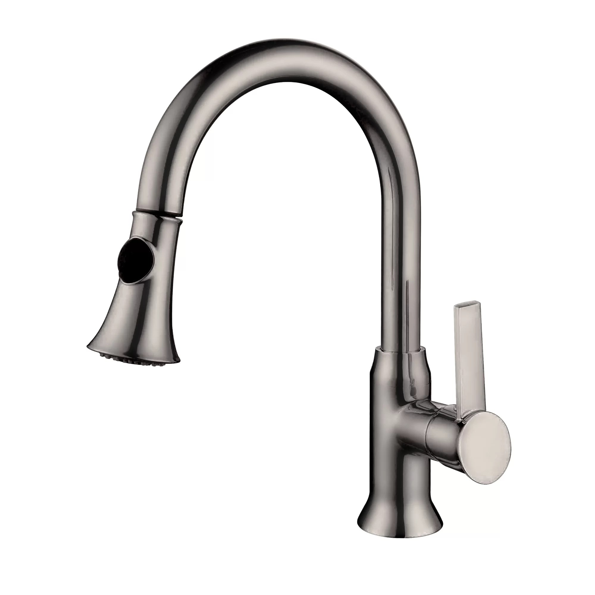 single handle pullout kitchen faucet how to repair a moen yosemite home decor one hole