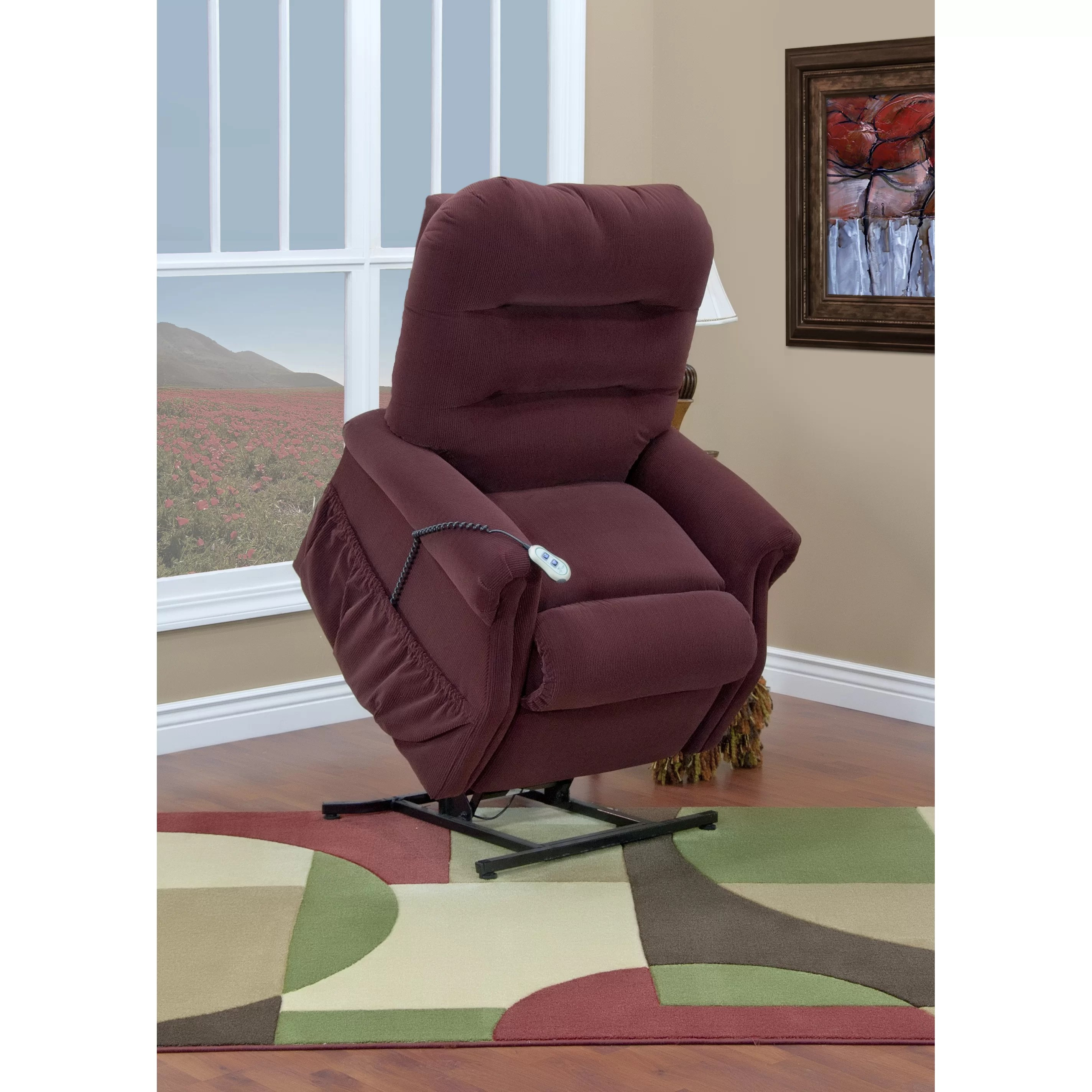 Med Lift Chairs Med Lift 30 Series Wide Three Way Reclining Lift Chair