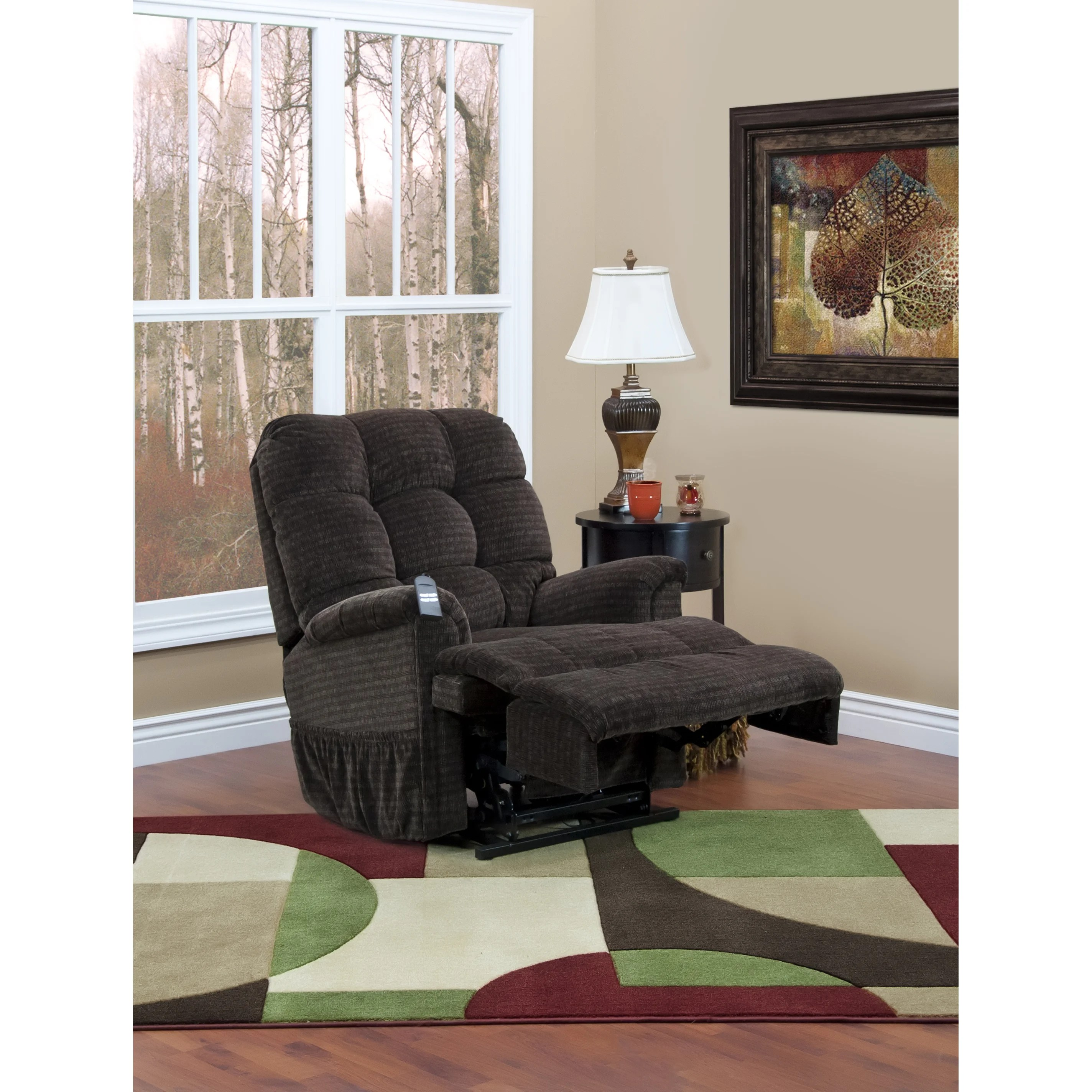 Med Lift Chairs Med Lift 5555 Series Sleeper Reclining Lift Chair With