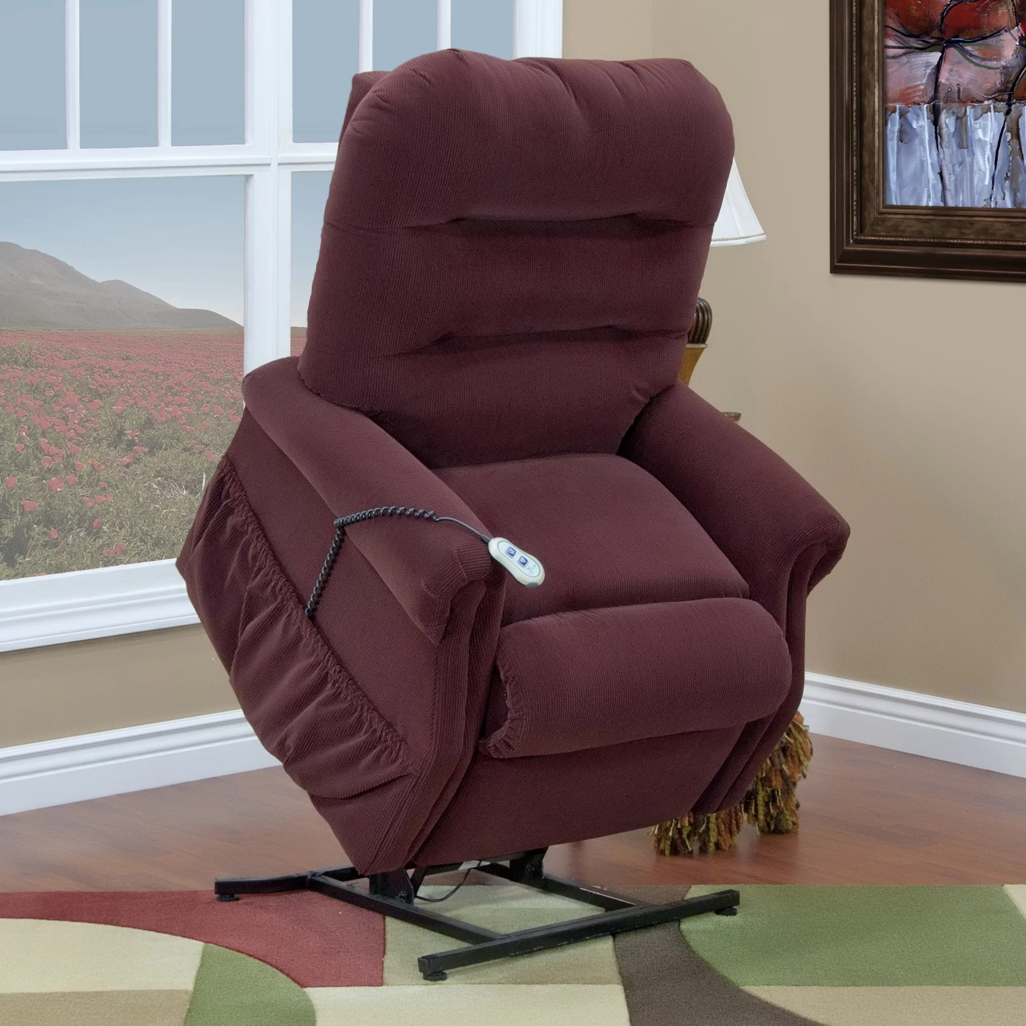 Med Lift Chairs Med Lift 30 Series Three Way Reclining Lift Chair Wayfair