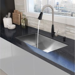 Buy Undermount Kitchen Sink Frigidaire Package Vigo 32 Quot X 19 Single Bowl 16 Gauge Stainless