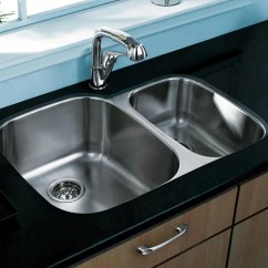 Stainless Steel Kitchen Sink Reviews Chalkboard Ideas For Vigo 30 Inch Undermount 70 Double Bowl 18 Gauge