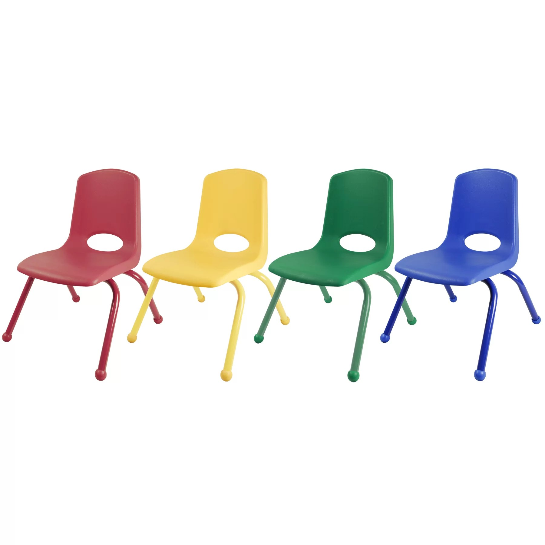 Kids School Chairs Ecr4kids Plastic Classroom Chair And Reviews Wayfair