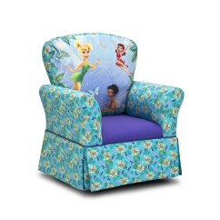 Kids Upholstered Rocking Chair Modern Task Kidzworld Disney 39s And Reviews Wayfair