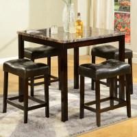 American Furniture Classics 5 Piece Counter Height Pub ...