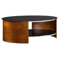 Jual Curve Coffee Table with Magazine Rack & Reviews ...