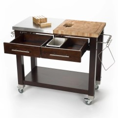 Chris And Kitchen Cart Wall Phones Pro Chef Island With Butcher Block