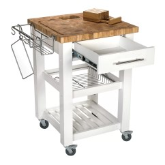 Chris And Kitchen Cart Island Sink Pro Chef With Butcher Block Top