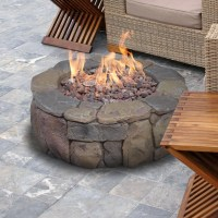 Bond Pinyon Steel Gas Outdoor Fireplace & Reviews | Wayfair