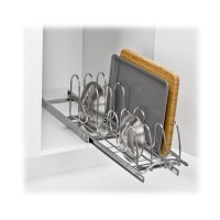 Lynk Roll Out Pan Lid Holder - Pull Out Kitchen Cabinet ...