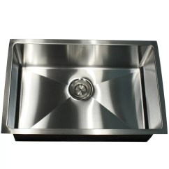 Stainless Steel Kitchen Sink Reviews Ventilation Hood Nantucket Sinks Pro Series 28 Quot X 18 Rectangle Undermount