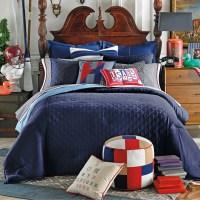 Tommy Hilfiger Prep Solid Comforter | Wayfair