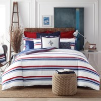 Tommy Hilfiger Edgartown Stripe Comforter Set & Reviews