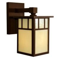 Arroyo Craftsman Huntington 1 Light Outdoor Wall Lantern ...