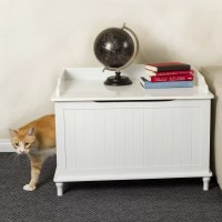 Designer Pet Products Mia Litter Box Enclosure & Reviews ...
