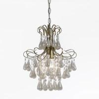 AF Lighting Tiffany 1 Light Crystal Chandelier & Reviews ...