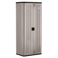 Suncast 2.5 Ft. W x 1.6 Ft. D Blow Mold Storage Cabinet ...